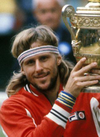 Björn Rune Borg.Nato il 6 Giugno è stato un tennista svedese. Considerato tra i più grandi tennisti della storia del tennis.(1956)