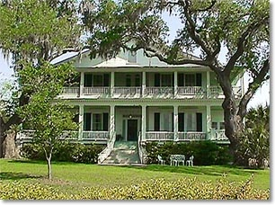 """Edgar Fripp House, """"Tidalholm"""" – 1 Laurens Street, Beaufort SC, where they filmed one of my favorite movies, """"The Big Chill""""."""