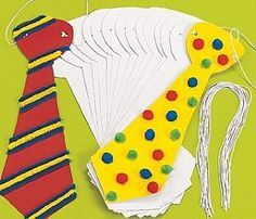 24 Jumbo Design Your Own Ties, Kids Crafts by Theme, Circus  Clown Crafts, kids crafts, childrens crafts, children's craft supplies, crafts for kids
