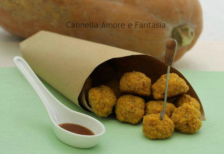 Polpettine di quinoa e zucca - ricetta finger food vegetariano