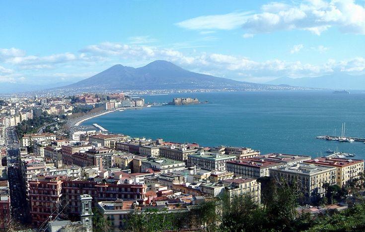 Golfo di Napoli, Vesuvio. Napoli. (Campania)