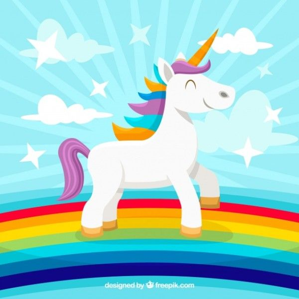 Unicorns And Rainbows Background Unicorn In 2020 With Images