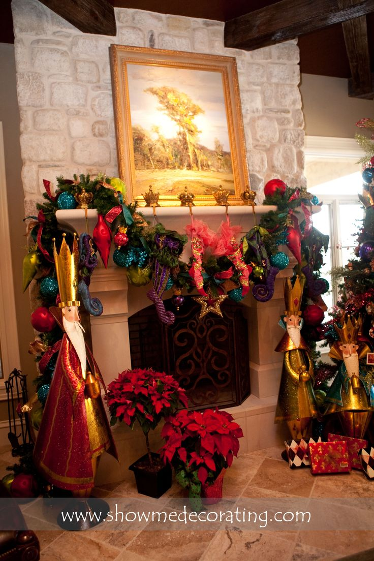 Christmas Decorating Ideas For Mantels