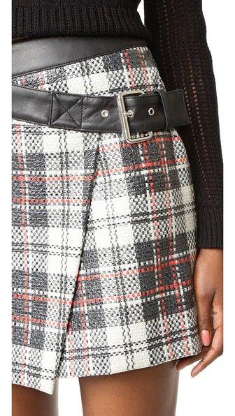 McQ - Alexander McQueen Mini Wrap Skirt
