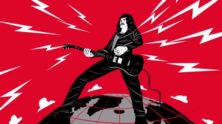 Animação conta a história de Tony Iommi, guitarrista do Black Sabbath