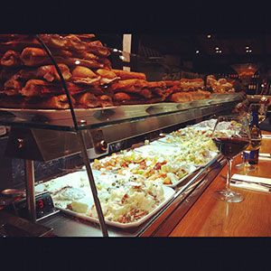 La Flauta Restaurant  Aribau 23, Barcelona - prawns  - calamaris - huevos cabreados
