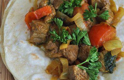 Galettes Tortillas de farine de blé