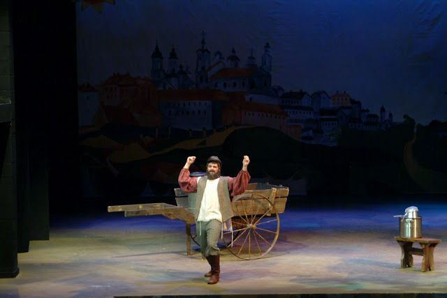 The Theatrical Designs of Gary Benson: Fiddler on the Roof--Scene and Costume Design