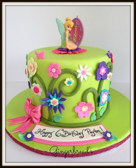 Tinkerbell - by gingerbreads @ CakesDecor.com - cake decorating website