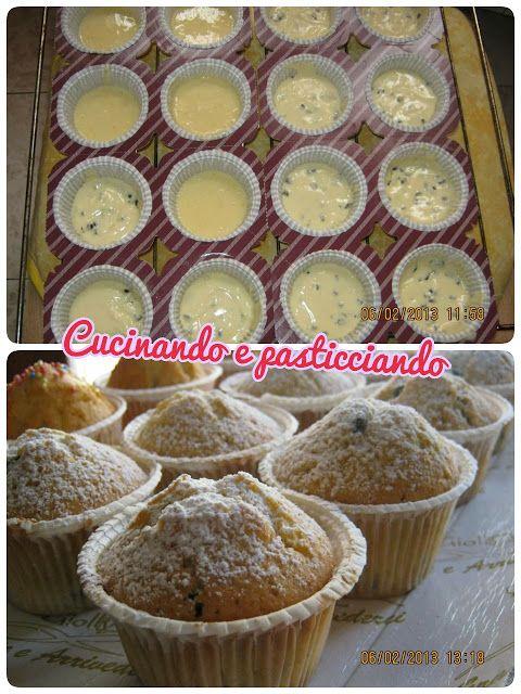 Cucinando e Pasticciando: Muffin con gocce di cioccolato
