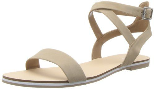Calvin Klein Women's Carolina Nubuck Dress Sandal