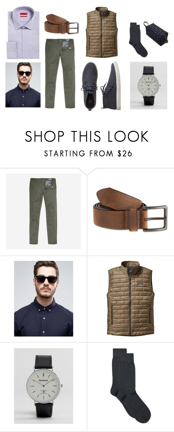 """Amis"" by amikosimonetti on Polyvore featuring Bonobos, Bill Adler, Tommy Hilfiger, Patagonia, Barbour, Polo Ralph Lauren, Gap, men's fashion and menswear"