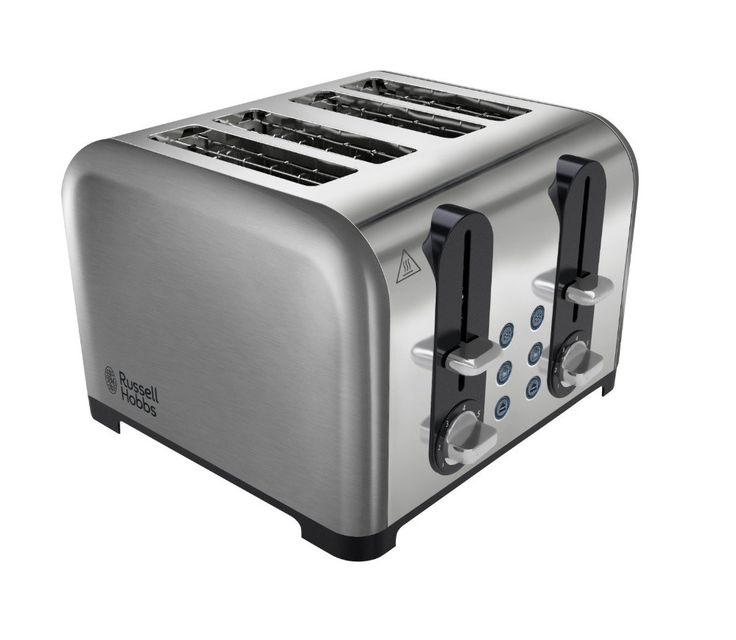 Russell Hobbs 4 Slice Toaster. Get ready to enjoy tasty toast just how you like it.