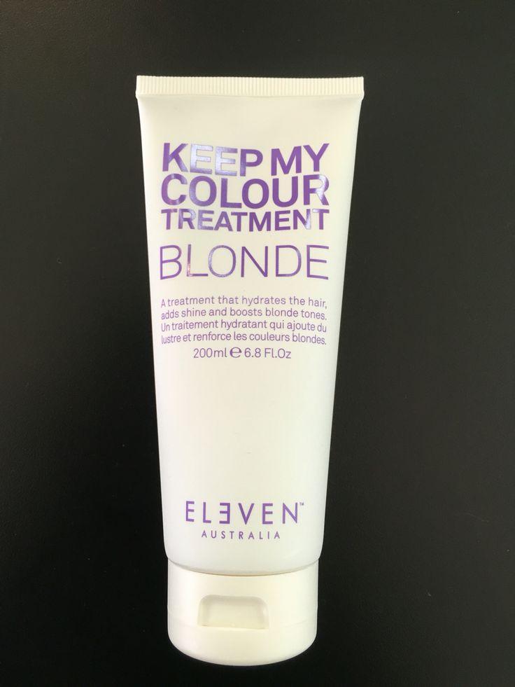 Keep my colour Blonde Hair Treatment Uptown Hair Studio Eleven Stockist