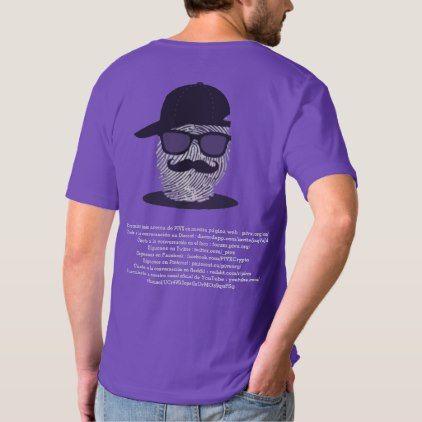 PIVX Worldwide Spanish Social Media Purple Shirt - logo gifts art unique customize personalize