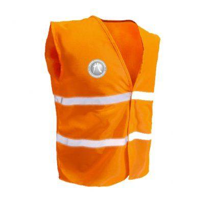 CHALECO REFLECTIVO FLUORESENTE  Confeccionado en tela fluorescente 100% poliester de alta visibilidad y calidad. Con costura reforzada en todo el perímetro. Cierre de velcro, y cintas reflectivas importadas cosidas. Talles L y XL. Colores disponibles: Amarillo fluo. Naranja fluo.