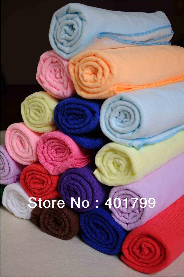 Super Absorbent thick microfiber bath towel for adult 70x140 cm 280 g per pc
