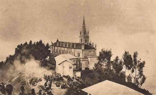 Fotos antiguas de Monserrate