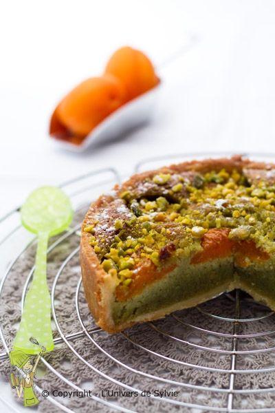 tarte amandine pistache-abricot