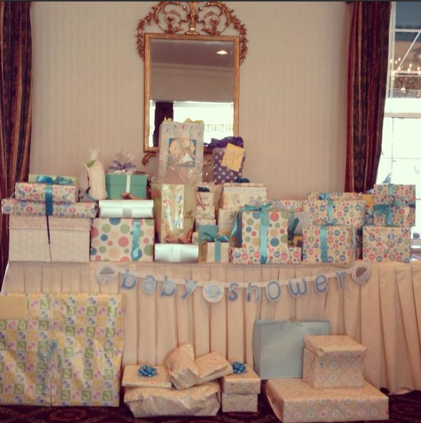 Jennifer stano 39 s blog my baby shower and baby registry for Baby welcome home decoration