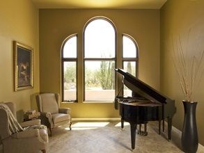 Renewal by Andersen replacement windows can provide inspirational views for those who inspire you.