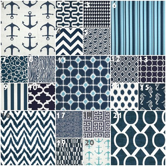 Modern Navy Crib Bedding Baby Bedding Crib Set Navy by modifiedtot, $30.00