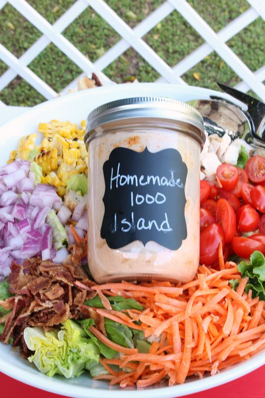 Recipe for russian style salad dressing