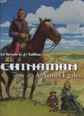 """Serge Le Tendre et Taduc, """"À armes égales - Chinaman"""", t.2, éd. Dupuis."""
