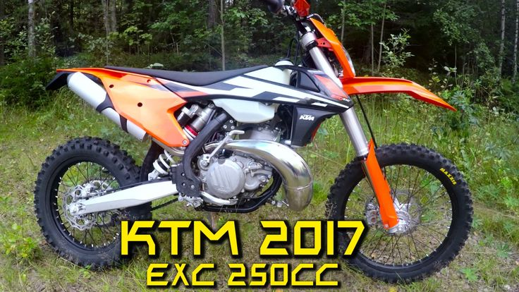 KTM EXC 250 2017 Test Ride Review