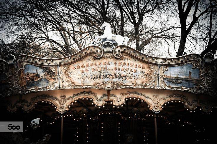 Photograph Carousel by Romana Murray on 500px