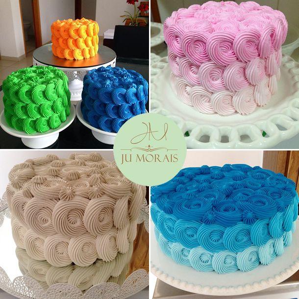bolos ju morais, bolo goiania, bolo rosa aniversário casamento, decoração rosinhas, decoração chantilly, bico de confeiteiro, como fazer rosinhas em bolos, confeitaria, doces, festas,
