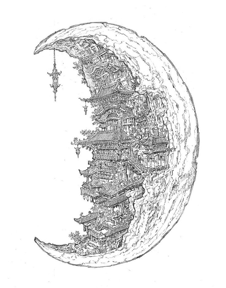 Line Art Moon : Best images about line art and fast sketches on