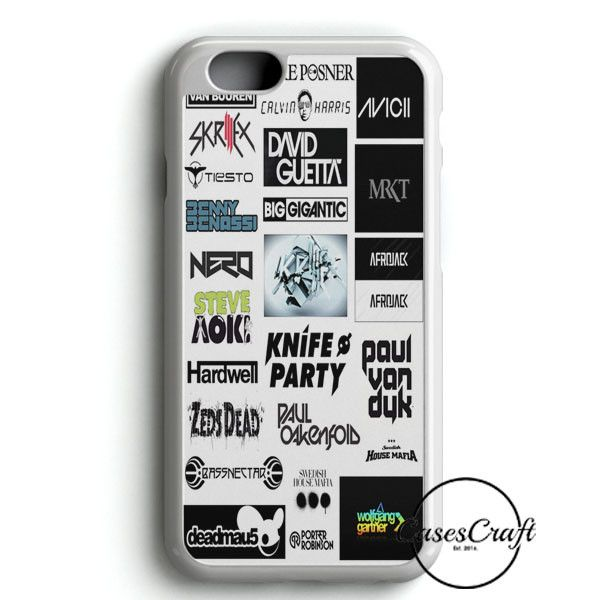 Top Dj Collage iPhone 6/6S Case | casescraft