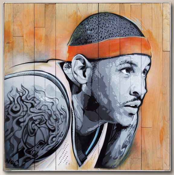 "The ""Art of Basketball"" project - very cool."
