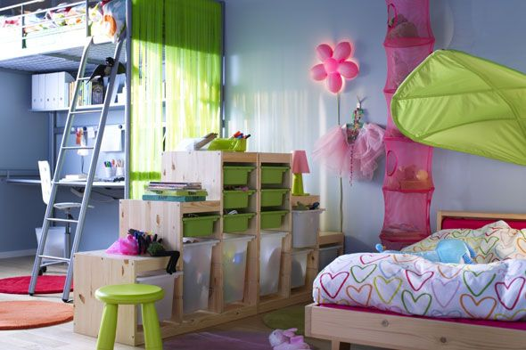 Ikea Zoning Kids Rooms IKEA Kids Room Designs Ideas