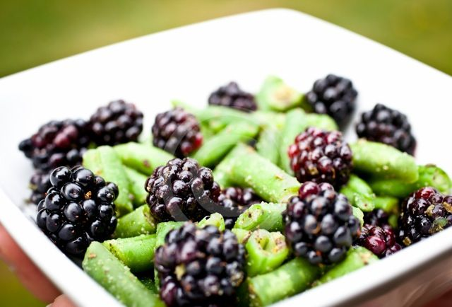 Blackberry Green Beans
