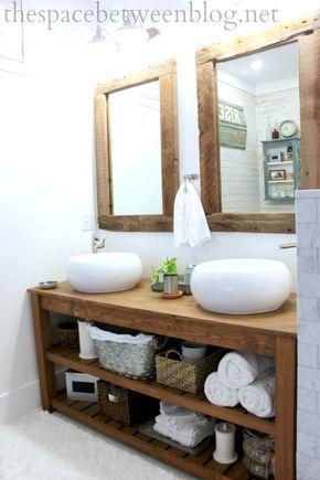 Badezimmer Natur Holz