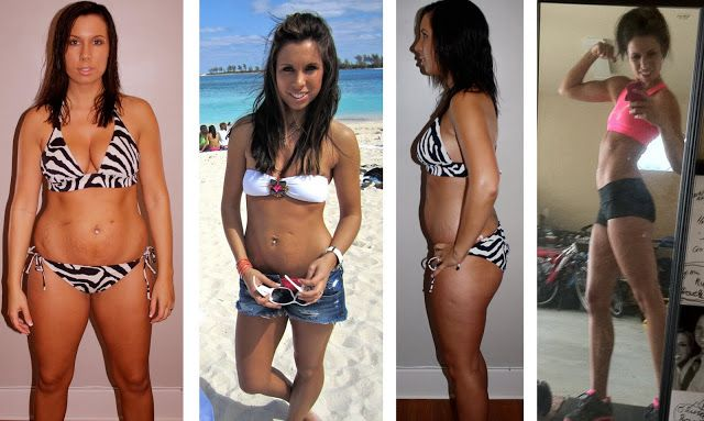 Melissa's P90X Results Day 60 Success Story #fitness #p90x #transformations
