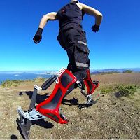 BionicBoot, des chaussures pour courir aussi vite qu'un guépard !Idées de cadeaux insolites et originaux sur Cadeaux 2 Ouf !.: BionicBoot, des chaussures pour courir aussi vite qu'un guépard !