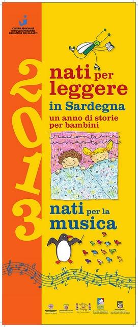 Calendario Nati per Leggere e Nati per Musica in Sardegna 2013: prima pagina
