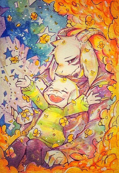 Asriel Dreemurr by Mitsuki-Chizu