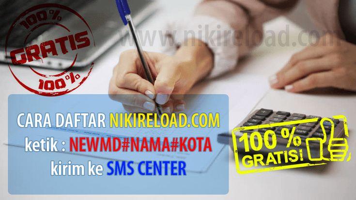 Cara Daftar Master Dealer atau cara jadi agen pulsa murah Niki Reload Gratis tanpa dipungut biaya apa pun untuk mendaftar sekarang juga, Transaksi cepat 24 Jam.