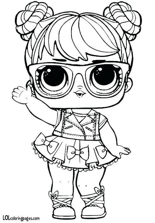 Miss Baby Lol Baby Coloring Pages Novocom Top