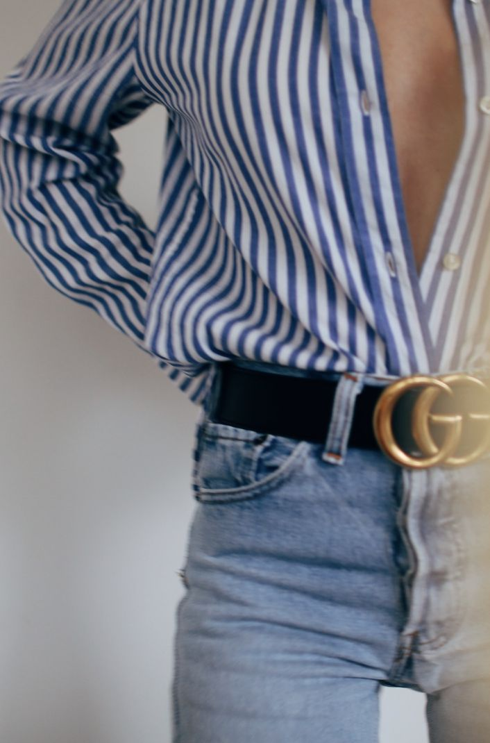Put a belt on it! The easiest way to make an outfit look expensive and chic! #gucci #accessories http://www.facebook.com\luxsey