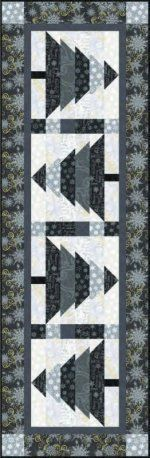 Free Pattern - Crystal Palace Christmas Tree Table Runner by Studio e