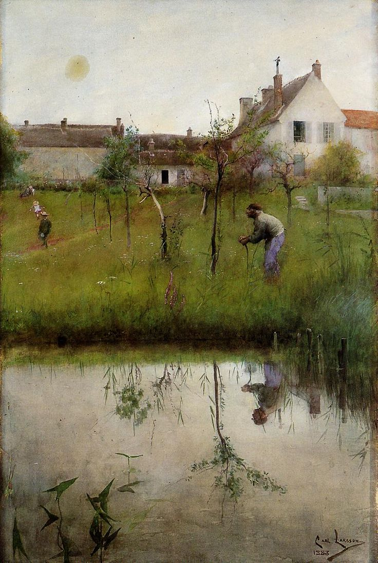 Carl Larsson (1853-1919), Sweden | painted in France 1883