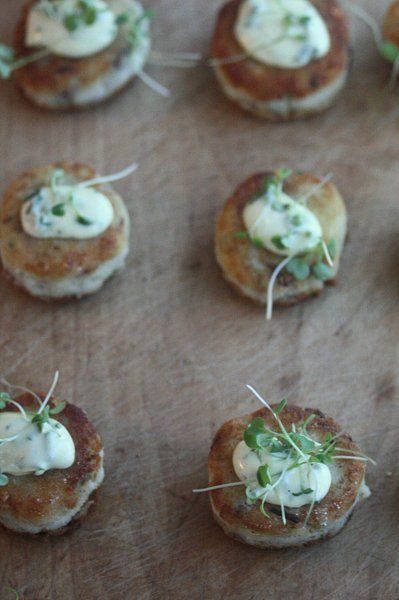 Smoked Fish Cakes with Corn Tartar Sauce | P #45: Corn Season | Pinte ...