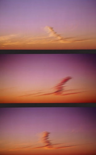 Michael Riley Foundation; The Michael Riley Foundation website was established to care for the artistic legacy of the late Wiradjuri/Kamilaroi artist Michael Riley;  image:  Michael Riley Spirit clouds 1997  cibachrome photograph, triptych: 56.0 x 28.0 cm  © Michael Riley Foundation, held in the Monash Gallery of Art Collection