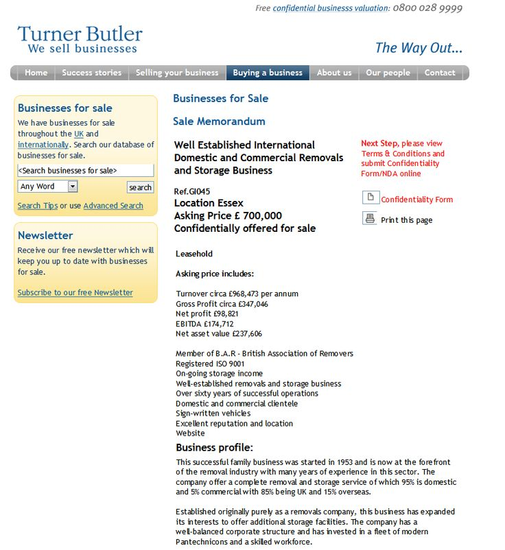 Businesses For Sale Selling Your Business Rupert Cattell Turner