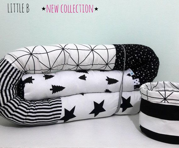 "baby ""Snake"" bed bumper for Baby crib or junior beds 